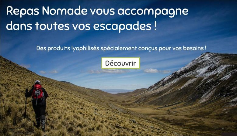 Repas Nomade - Montagne